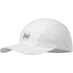 Buff Pro Run Gorra, r-solid white